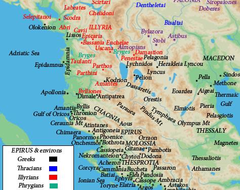 LA GEOGRAFIA STORICA DI STRABONE ATTRAVERSO LA LOGOGRAFIA DI TEOPOMPO. Popolazioni autoctone in Epiro intorno al IV secolo a.C.